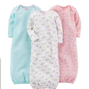 Carter's cotton sleeping gowns